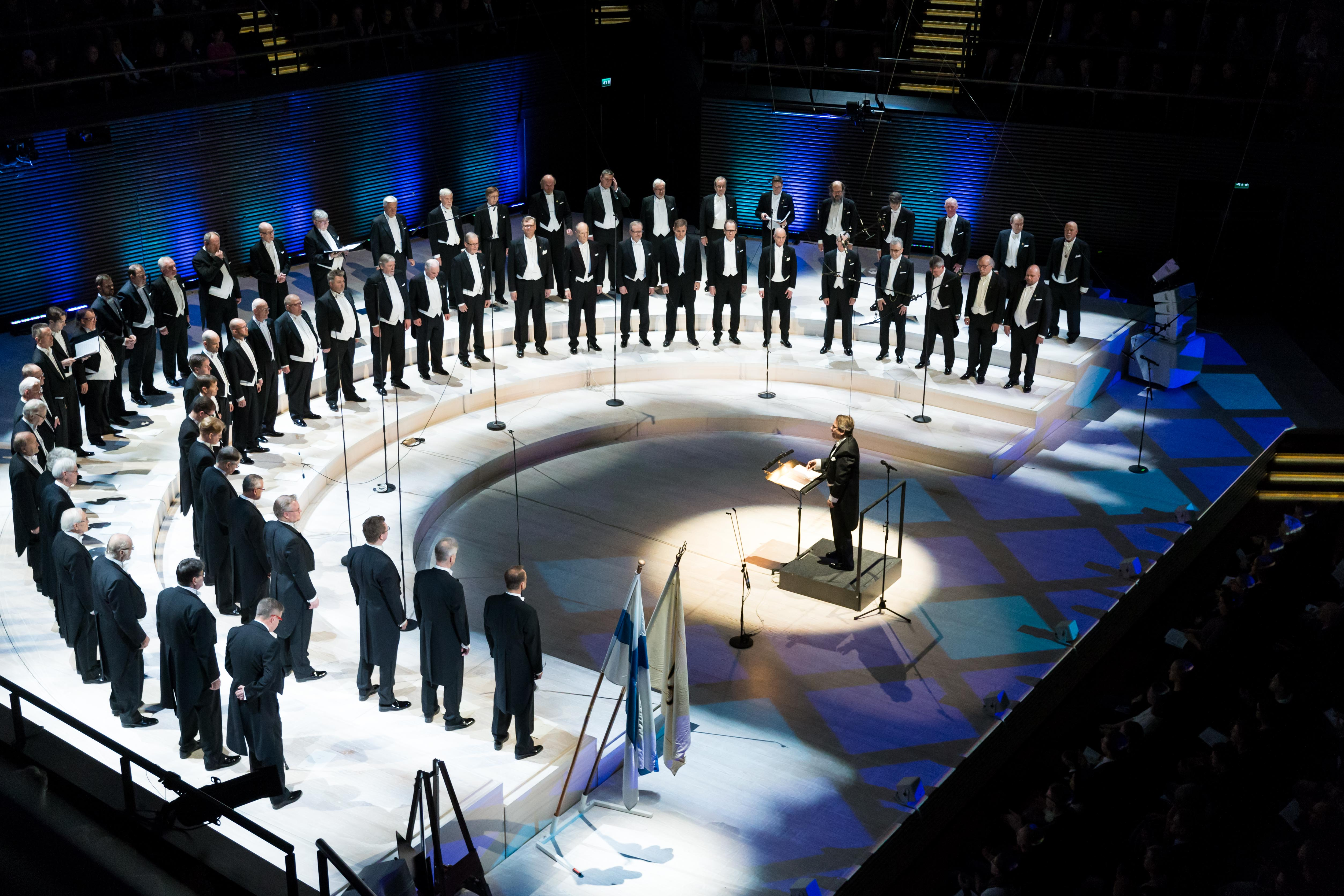 Laulu-Miehet at Musiikkitalo